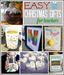 8 Quick And Easy Teacher Christmas Gift Ideas With Printable Tags Christmas Gift Teachers