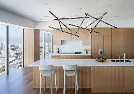 image of kitchen island lighting black