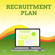 Design A Recruitment Plan Text Sign Showing Recruitment Plan Business Photo Showcasing