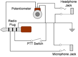 push to talk switch fabrication pilots of america check out the connections in the adaptor an ohmmeter you can leave off the potentiometer off