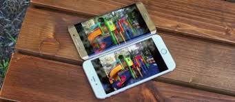 Apple iPhone 6s Plus vs. Samsung Galaxy S6 edge+ : Displays ...