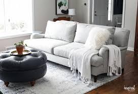 Studio living room furniture Bachelor Apartment My New Living Room Sofa Carlisle Upholstered Sofa livingroom sofa Elle Decor My New Living Room Sofa Carlisle Upholstered Sofa