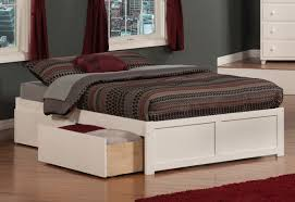 twin platform beds with storage. Twin Platform Bed With Storage White Beds