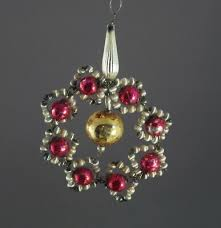 Alter Christbaumschmuck Gablonzer Jugendstil Ornament Um