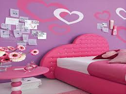 Pink Bedroom Paint Pink Interior Paint Pretty Teen Girls Bedroom Ideas With Pink