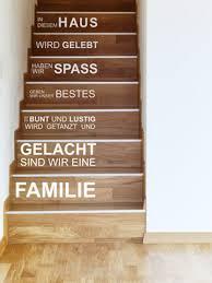 Wohnideen für den flur können sie überraschend inspirieren. Wandtattoo Im Treppenhaus Auf Treppe Wand Co
