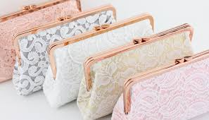 rose gold clutch box clutch is becoming more popular in this year and is commonly used for wedding gift for your bridesmaids