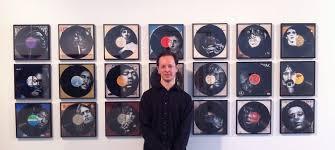 Me with my Vinyl Art