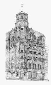 architecture building drawing. Drawing Of Glasgow Herald Building By Charles Rennie Mackintosh Architecture Building Drawing