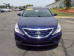 hyundai sonata 2013 blue. 2013 hyundai sonata gls blue gasoline 4 door sedan 3