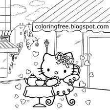 Kids Coloring Pages For Restaurant With Restaurant Coloring Pages