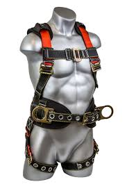 Fall Protection Harness Size Chart Seraph Construction Harness