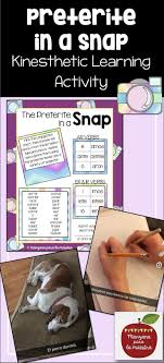 Cantar Conjugation Chart Spanish Preterite In A Snap Fun Activity Editable El