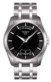 mens tissot watches watch hub mens tissot couturier automatic watch t035 407 11 051 00