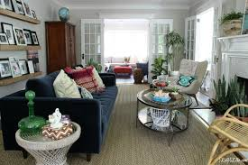 colorful living room tour love the eclectic mix of color pattern and texture kellyelko