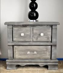 distressed wood furniture diy. how to get that grayweathered look on cheap laminatewood thriftstore furniture distressed wood diy