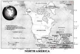 essay on north america continents world geography geographical features of north america