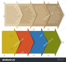 unique brochures stacked arrowspockets background web design creating stock vector