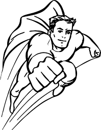 Small Picture Superheroes Coloring Pages Wecoloringpage