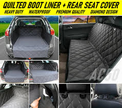 rear seat cover audi a4 avant estate