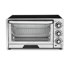 cuisinart 6 slice silver toaster oven with auto shut off