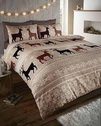 warm cosy soft brushed cotton duvet cover sets king taupe brown