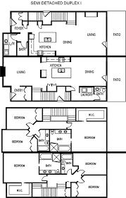 semi detached duplex home i