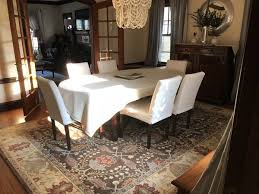 pottery barn brandon persian style rug