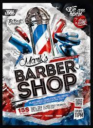 Brochures Templates Free Download Barber Flyer Templates Free Download Barbershop Flyer Template Psd
