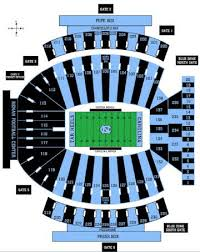72 Factual Kenan Stadium Seating Chart