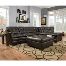 simmons upholstery. simmons upholstery apollo espresso sectional and ottoman e