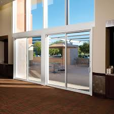 exterior sliding pocket doors. Hurst Conference Center, Hurst, TX, USA: Ron Hobbs Architects, Garland , Exterior Sliding Pocket Doors O