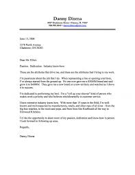 Business Cover Letter Examples Cover Letter 1
