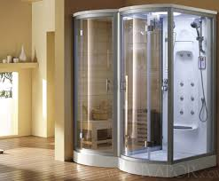 The Utopia Steam Shower Sauna Combination from Di Vapor