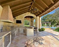 Tropical Outdoor Kitchen Designs Custom Decoration