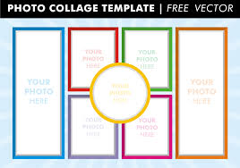 Photo Collage Templates Vector Download Free Vector Art Stock