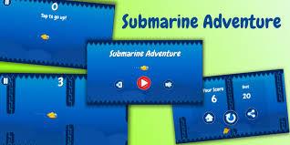submarine adventure unity game source code