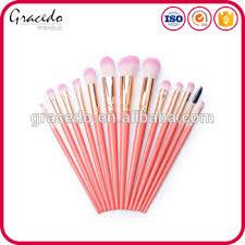 professional 13pcs taobao tmal amazon whole sell orange pink color gold ferule smart makeup brush set