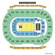 Scotiabank Saddledome Calgary Ab Seating Chart View