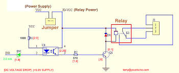 wiring a opto isolated relay to arduino