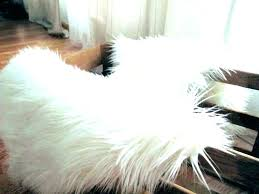 large fur rug skin rugs soft faux bedroom fake animal s cream faux animal rug faux