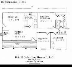 30k floor plan for our log home model wilma jane