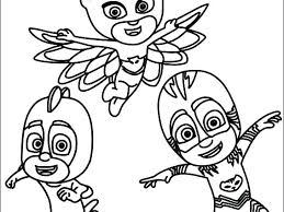 Pj Masks Coloring Pages Printable Cow Mask Coloring Page Printable