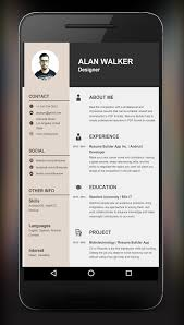 Resume App Android Resume