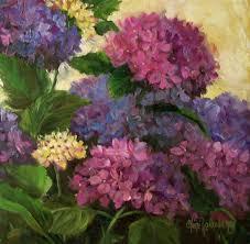 hydrangea painting blue hydrangea paintings