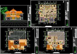 house plan autocad dwg