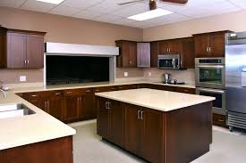Dark Mahogany Kitchen Cabinets Outstanding Black Corian Kitchen Countertop Nickel Kitchen Faucet