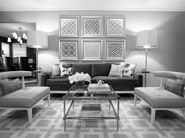 black and white modern furniture. Breathtaking Modern Furniture Design Living Room With Gray Fabric Sofa And White Cushion Also Ottoman Plus Glass Top Coffee Table Grey Couch Black Home /