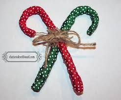 How To Decorate Candy Canes Foil Homespun Candy Cane Ornaments Hometalk 41