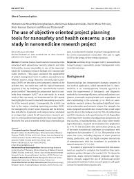 Free Project Management Pdf The Use Of Objective Oriented Planning